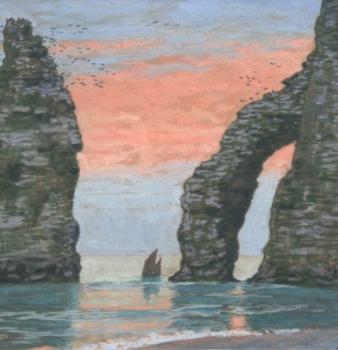 Monet – Auburtin : une rencontre artistique :  Exposition du 22 Mars au 14 juillet 2019 à Giverny