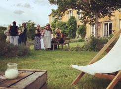 La Réserve accueille groupe de peintres, photographes, séminaires