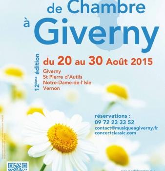 Musique de Chambre à Giverny