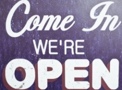 WELCOME !!We are Open !!!